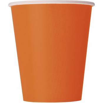 Gobelets carton orange
