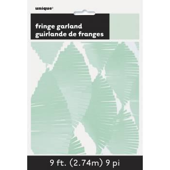Guirlande frange menthe
