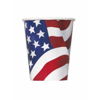 8 Gobelets USA