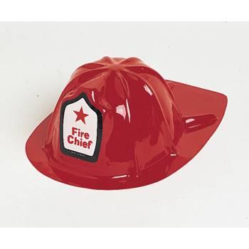 Casque Pompier en plastique