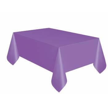 Nappe jetable plastique lilas