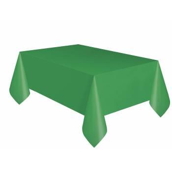 Nappe jetable plastique verte
