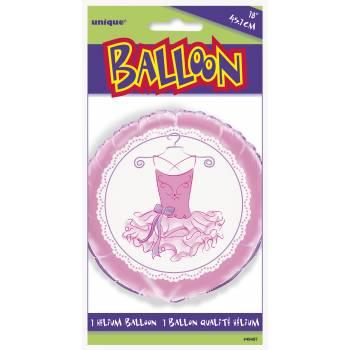 Ballon hélium Ballerine