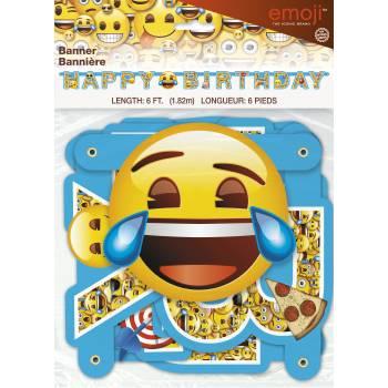 Guirlande anniversaire Emoji