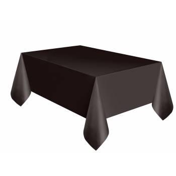Nappe jetable plastique noire
