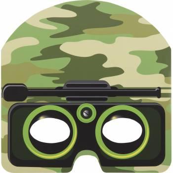 8 Masques militaire