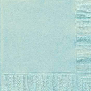 Serviettes jetables papier menthe