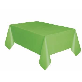 Nappe jetable plastique vert lime