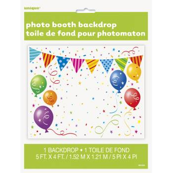 Fond de photobooth anniversaire