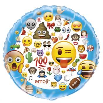 Ballon aluminium Emoji XL