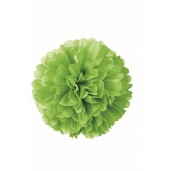Suspension froufrou papier fluo vert