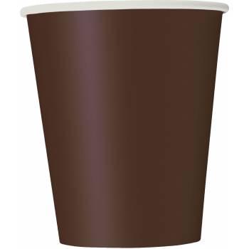 Gobelets carton chocolat