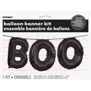 Ballon alu BOO noir
