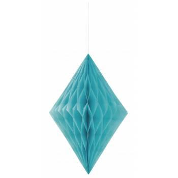 décors à suspendre diamant bleu caraïbe