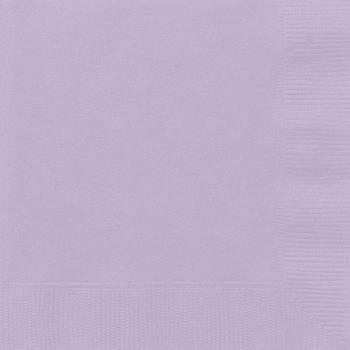 Serviettes jetables papier lavande