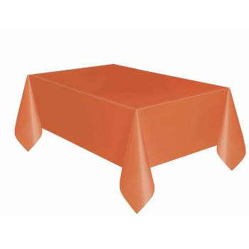 Nappe jetable plastique orange