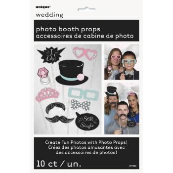 10 Accessoires photobooth Wedding