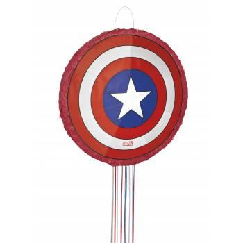 Pinata 3D Bouclier Captain America à fils