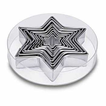 Assortiment 10 emporte pièces étoiles