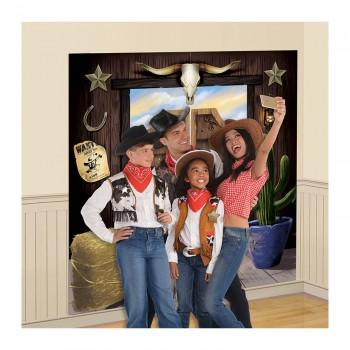 Fond photobooth western
