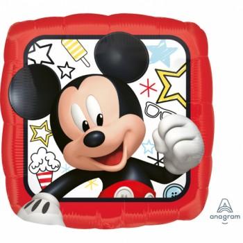 Ballon hellium carrée Mickey