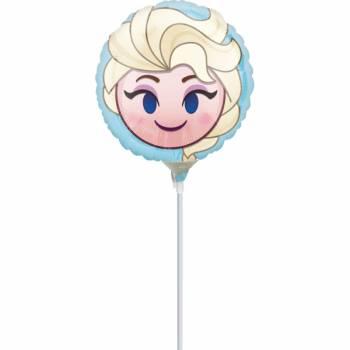 Ballon à main Reine des neiges gonflé