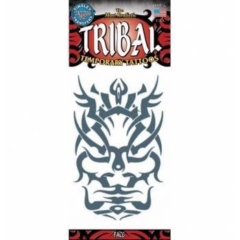 Tattoos tribal visage