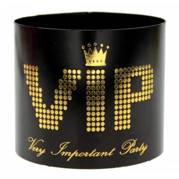 6 ronds de serviettes VIP