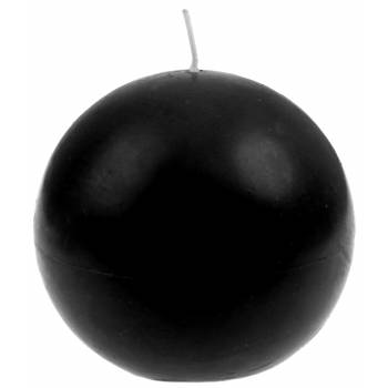 Bougie ronde noir