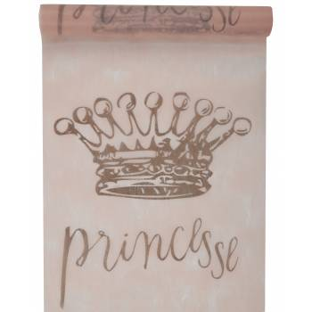 Chemin de table intissé princesse