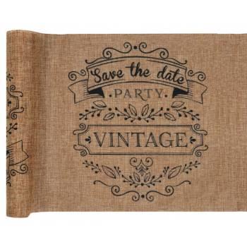 Chemin de table Vintage