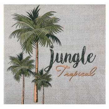 20 serviettes Jungle Tropical