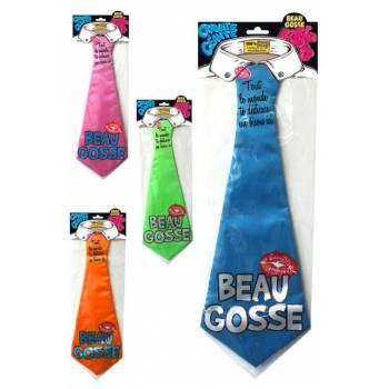 Cravate géante Beau gosse