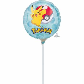 Mini Ballon Pokemon gonflé