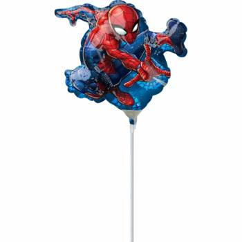 Mini Ballon Spiderman gonflé