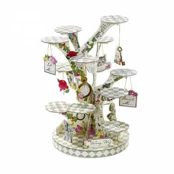 Stand à gâteaux Alice vintage