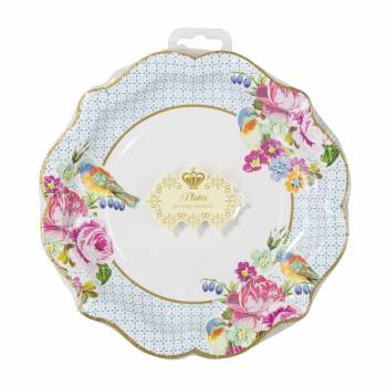 12 Assiettes vintage grand-mère