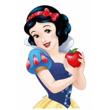 Personnage Blanche Neige comestible