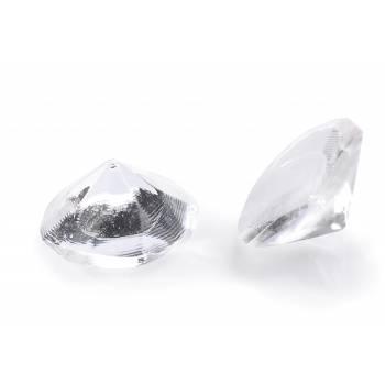 20 Diamant en sucre gélifiés transparent