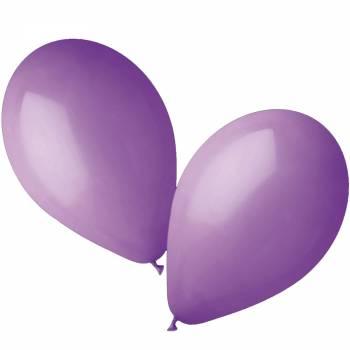 50 Ballons pastel lavande Ø30cm