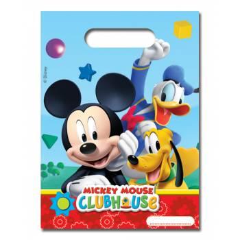 Lot 6 Sachets Mickey Mouse
