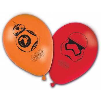 8 Ballons Star Wars VII