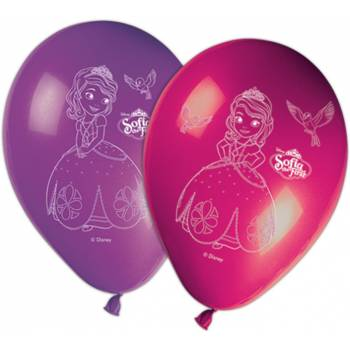 Ballons latex princesse Sofia