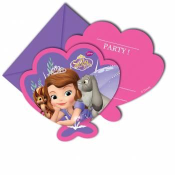 Invitation princesse Sofia mystic isles