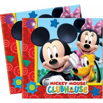 Lot 20 Serviettes Mickey Mouse