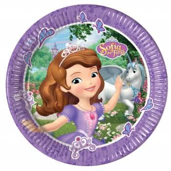 Assiettes Princesse Sofia