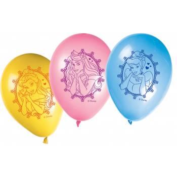 Ballons latex princesses Disney glamour
