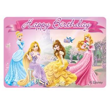 Bougie decor Princesses Disney