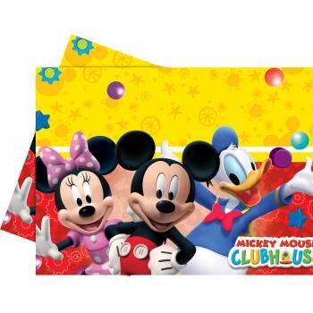 Nappe rectangulaire Mickey Mouse en plastique