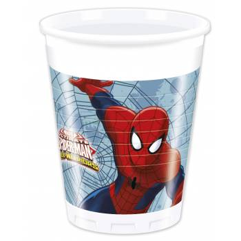 Lot Gobelets Spiderman Warriors